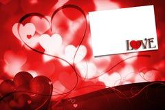 Sammansatt bild av förälskelse med låset och tangent Arkivbild