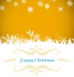 Sammansatt bild av julkortet Arkivbilder