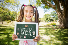 Sammansatt bild av tillbaka till skolan Royaltyfria Foton
