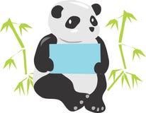 Sammanträde Panda Bear Animal Fotografering för Bildbyråer