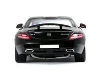 Sammelbare Sportwagen Mercedes-Rückseitenansicht Stockbild