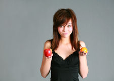 Sammeln-Frucht Stockfoto