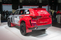 "Sammeln Sie  ""Baja Portalegre 500†Version des Mitsubishi-Outlander PHEV Lizenzfreie Stockfotos"