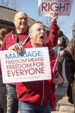 Heirat-Sammlung am Obersten Gericht der USA Lizenzfreies Stockfoto