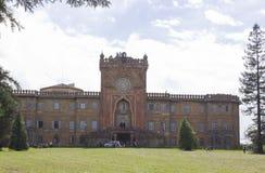 Sammezzano古老城堡在托斯卡纳的心脏 免版税库存图片