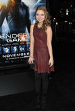 Sammi Hanratty. LOS ANGELES, CA - OCTOBER 28, 2013: Sammi Hanratty at the Los Angeles premiere of Ender's Game at the TCL Chinese Theatre Royalty Free Stock Photo