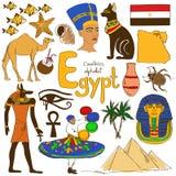 Sammlung Ägypten-Ikonen Stockfoto