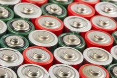 Sammlung alte Batterien Lizenzfreie Stockbilder