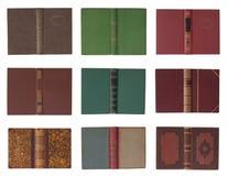 Sammlung Bucheinbänd Lizenzfreies Stockfoto