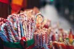 Sammlung bunte Süßigkeiten Lizenzfreies Stockfoto