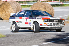 61 Sammlung Costa Brava. FIA European Historic Sporting Rally-Champion stockbilder