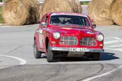 61 Sammlung Costa Brava. FIA European Historic Sporting Rally-Champion lizenzfreie stockbilder