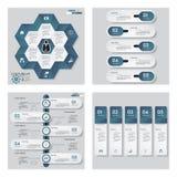 Sammlung der Schablone mit 4 Blau Farb/des Grafik- oder Websiteplans Es kann für Leistung der Planungsarbeit notwendig sein Stockfotografie