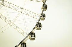 Sammlung des großen Riesenrads Lizenzfreie Stockfotos