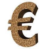 Sammlung des Zeichens 3d - Euro Lizenzfreie Stockfotos