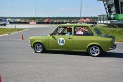 Sammlung Fiats 128 lizenzfreie stockbilder