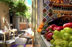 Sammlung frisches Obst und Gemüse Lizenzfreies Stockbild