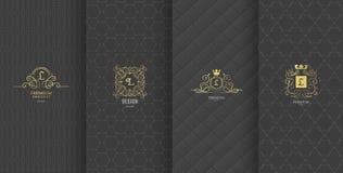 Sammlung Gestaltungselemente, Aufkleber, Ikone, Rahmen, für das Verpacken, vektor abbildung