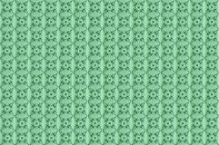 Sammlung grüne Musterfliesen stockfotografie