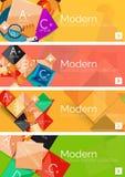 Sammlung infographic Konzepte des flachen Netzes und lizenzfreie abbildung