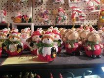 Sammlung kleine Weihnachtszahlen Stockfoto