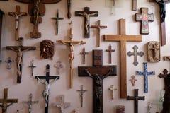 Sammlung Kreuze lizenzfreies stockbild