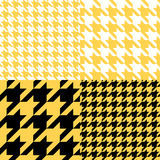 Sammlung mit 4 grafische Mustern Lizenzfreies Stockfoto