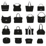 Sammlung moderne Handtaschen Lizenzfreies Stockfoto