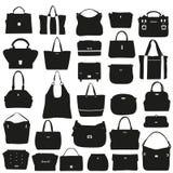 Sammlung moderne Handtaschen Lizenzfreie Stockbilder