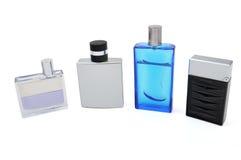 Sammlung Parfüme Stockbild
