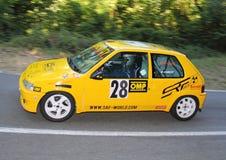 Sammlung Peugeots 106 Lizenzfreies Stockfoto