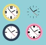 Sammlung Uhren Stockbilder