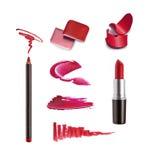 Sammlung verschiedener Lippenstift Lizenzfreies Stockfoto