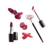 Sammlung verschiedener Lippenstift Lizenzfreie Stockfotografie