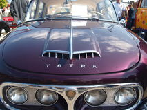 Sammlung von alten Autos Lizenzfreies Stockbild