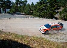 Sammlung von der Türkei. WRC Lizenzfreies Stockfoto