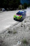 Sammlung von der Türkei. WRC Lizenzfreie Stockbilder