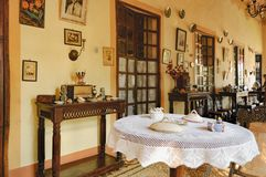 Sammlung von Haus Menezes Braganza Pereira, Indien Lizenzfreies Stockfoto