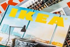 Sammlung von IKEA Katalogisiert 2014 stockfotografie