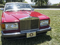 Sammlung von Rolls Royce und von anderen Luxusautomobilen in Asheville-North Carolina USA Lizenzfreie Stockfotografie