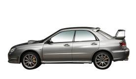 Sammlungauto des Silbers 4WD getrennt Lizenzfreies Stockfoto