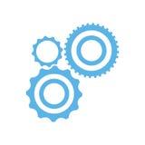 Sammlungsgangradtechnologie mechanisch vektor abbildung