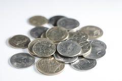 Sammlungsmünzen Lizenzfreie Stockbilder