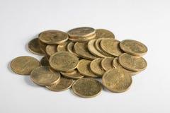 Sammlungsmünzen Lizenzfreies Stockbild