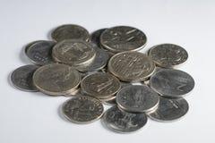 Sammlungsmünzen Lizenzfreie Stockfotos
