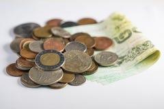 Sammlungsmünzen Lizenzfreie Stockfotografie