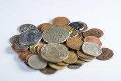 Sammlungsmünzen Stockbilder