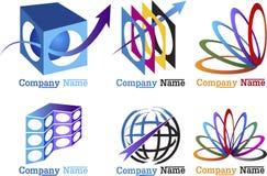 Sammlungssymbole Stockfotografie