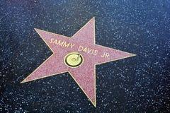 Sammy Davis Jr Photographie stock
