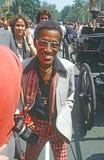 Sammy Davis, JR chanteur et célébrité célèbre Photographie stock libre de droits